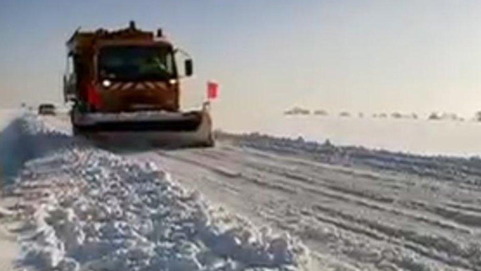Alerte Météo : le sud-est touché par la neige, prudence sur les routes !