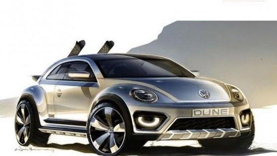 Salon de Détroit 2014 : un concept Volkswagen Bettle Dune à venir