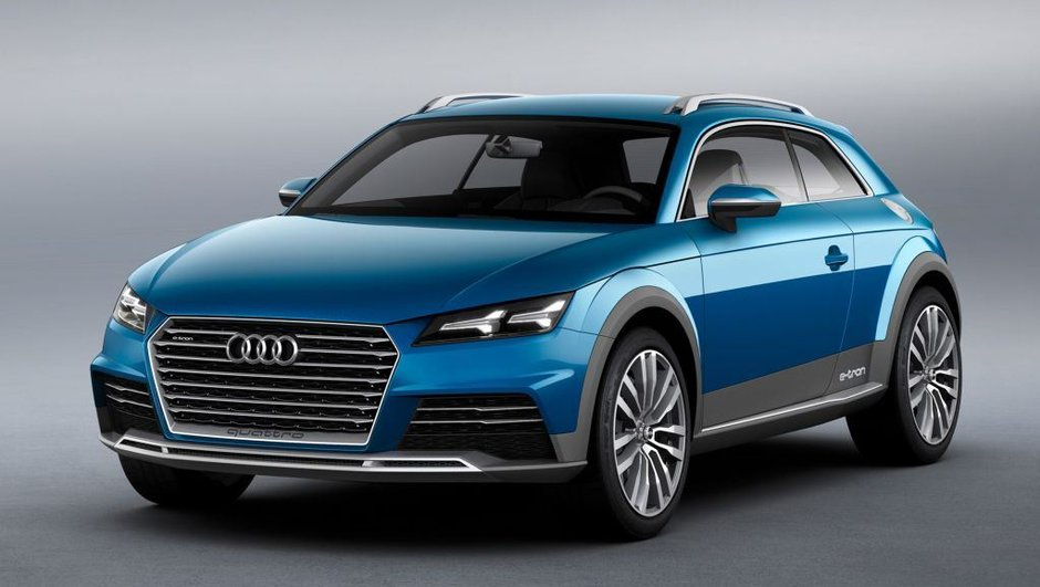 Salon de Detroit 2014 : Audi Allroad Shooting Break Concept, avant le futur TT ?