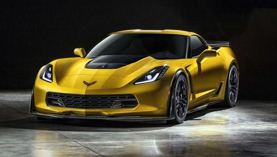 Salon de Detroit 2014 : Chevrolet Corvette Z06, des photos s'échappent