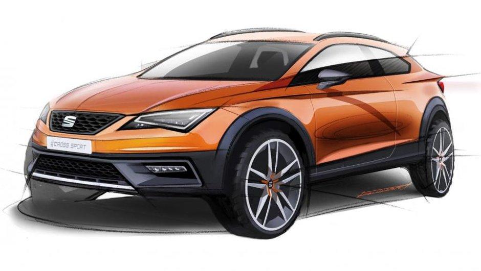 Seat Leon Cross Sport Concept 2015 : les premiers croquis du SUV !