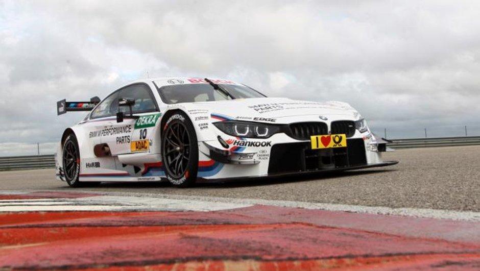 Salon de Genève 2014 : la BMW M4 DTM héritière de la M3 officiellement révélée