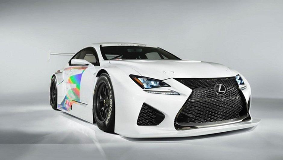 Salon de Genève 2014 : Lexus exposera la RC F GT3 de la saison 2015