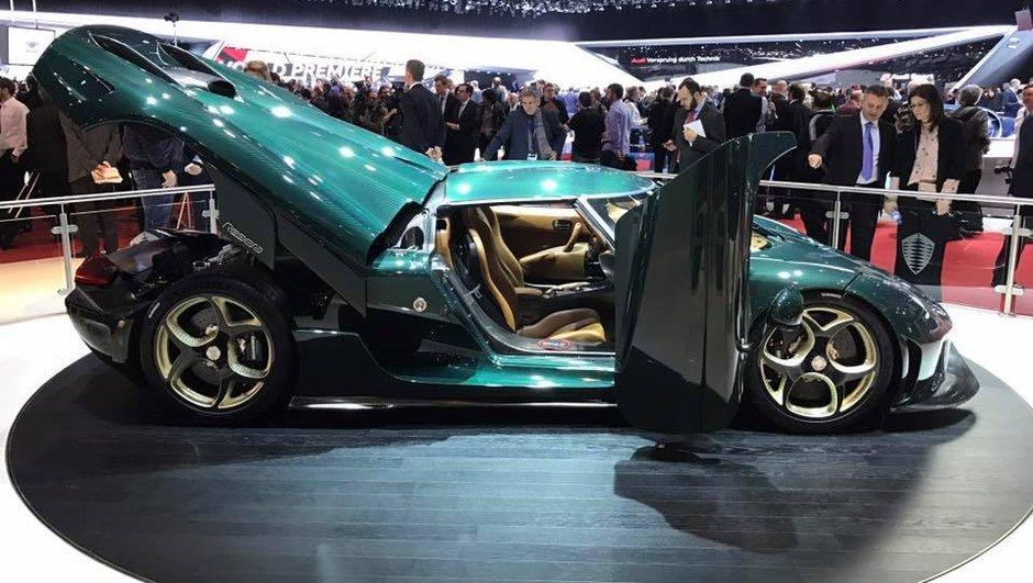 Salon de Genève 2017 : Koenigsegg expose ses premières Regera