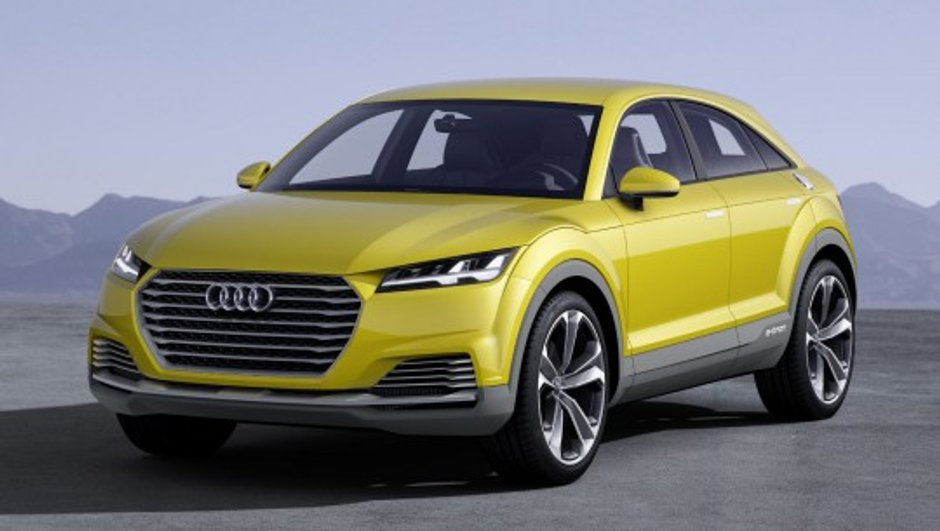 Salon de Pékin 2014 : Audi TT Offroad Concept, le coupé façon crossover 5 portes