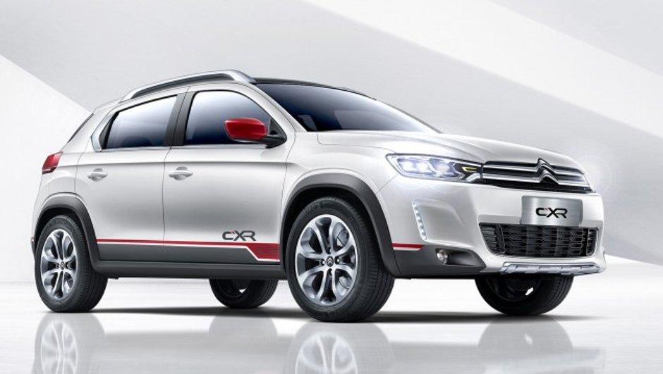 Salon de Pékin 2014 : Citroën CX-R, un petit frère pour le DS 6WR en Chine