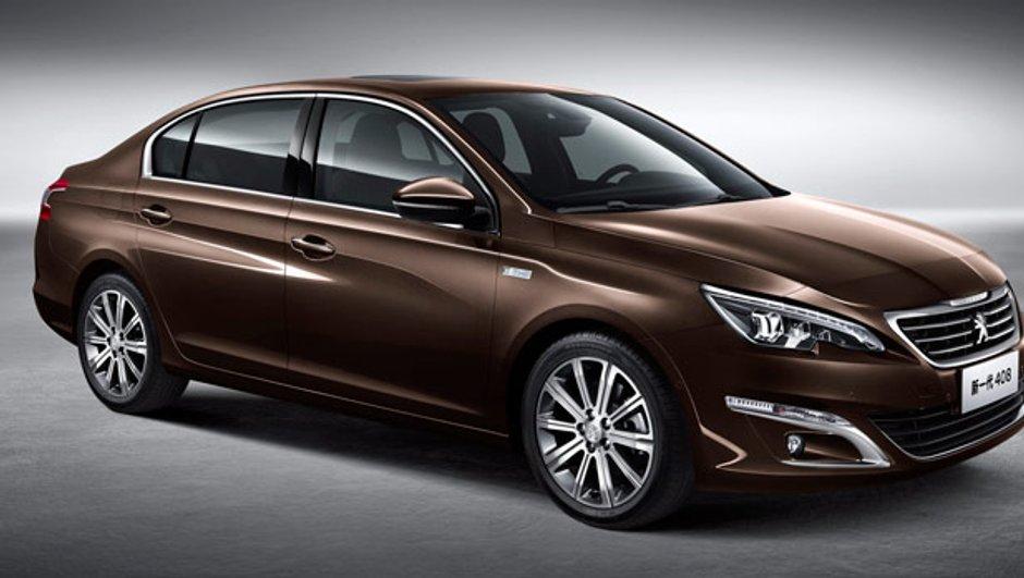 Salon de Pékin 2014 : nouvelle Peugeot 408, une 308 qui a du coffre