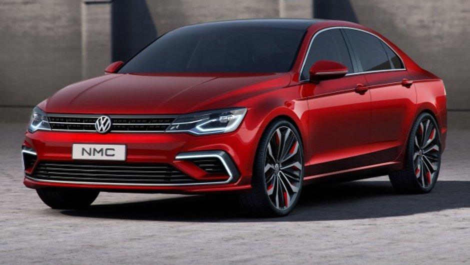 Salon de Pékin 2014 : Volkswagen New Midsize Concept, une future Jetta plus dynamique ?