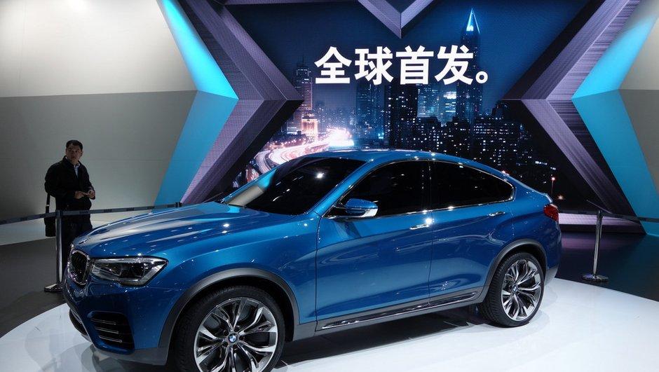 Salon de Shanghai 2013 : BMW X4 Concept, le crossover s'annonce