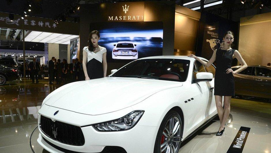 Salon de Shanghai 2013 : Maserati Ghibli, la démocratisation du Trident