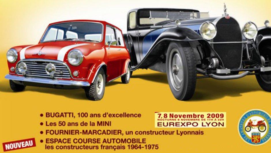 Epoqu'Auto du 6 au 8 novembre à Lyon : 450 exposants et des voitures mythiques