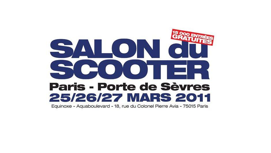 Salon du Scooter 2011 : rendez-vous du 25 au 27 mars !