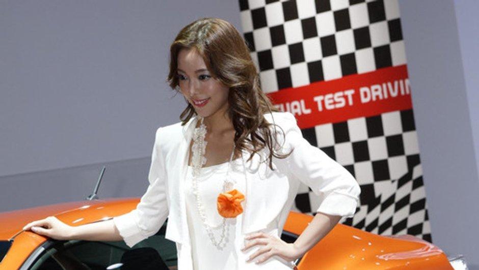 Les hôtesses du Salon de Tokyo 2011