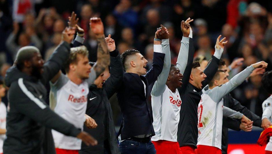 Europa League:  Salzbourg va au bout de ses idées