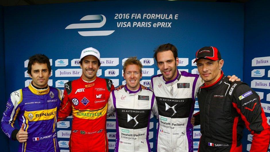 Formule E - ePrix Paris 2016 : la pole pour Bird et DS Virgin