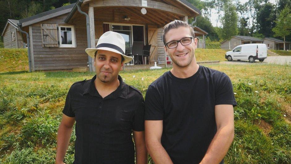 Samir et Benjamin, les candidats du mardi