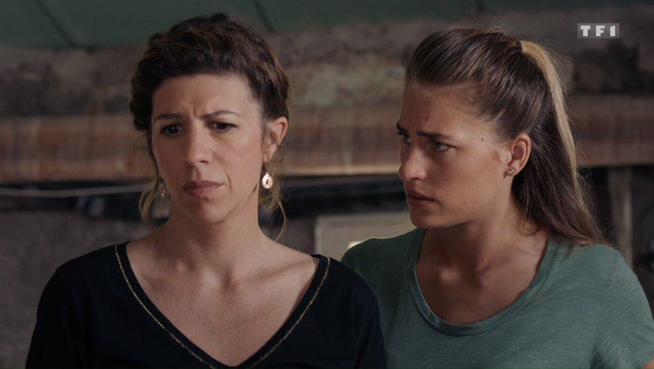 Demain nous appartient - Dans l'épisode 532 : Sandrine va-t-elle dire toute la vérité à Victoire ?