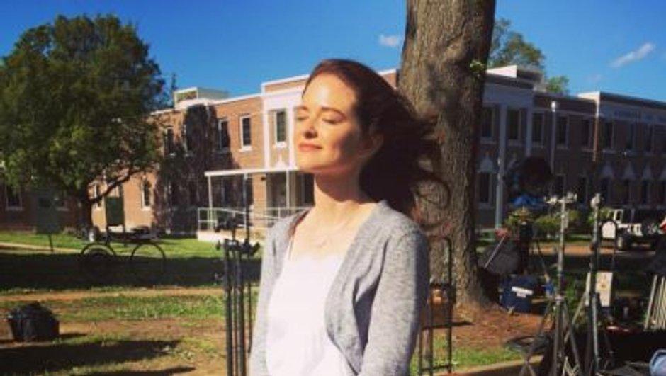 Sarah Drew (April Kepner), l'amie des bêtes