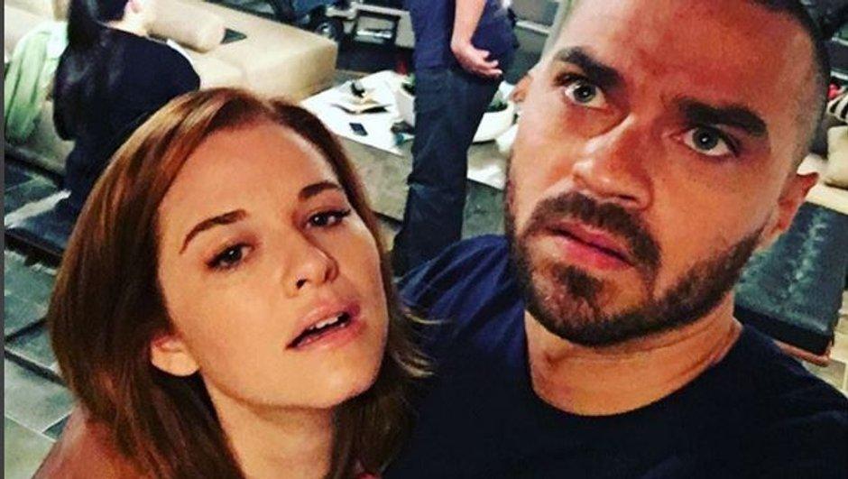 Jesse Williams et Sarah Drew très fatigués sur le tournage de la série