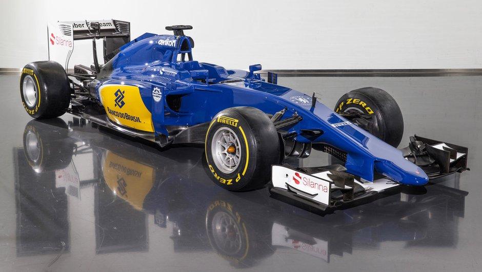 F1 : Sauber présente sa nouvelle C34 pour la saison 2015