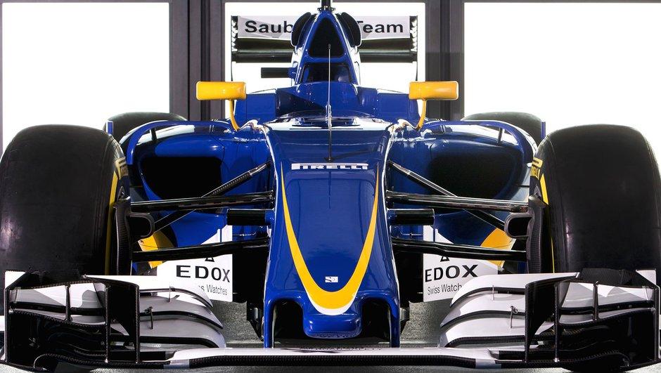 F1 : La monoplace Sauber C35-Ferrari enfin dévoilée