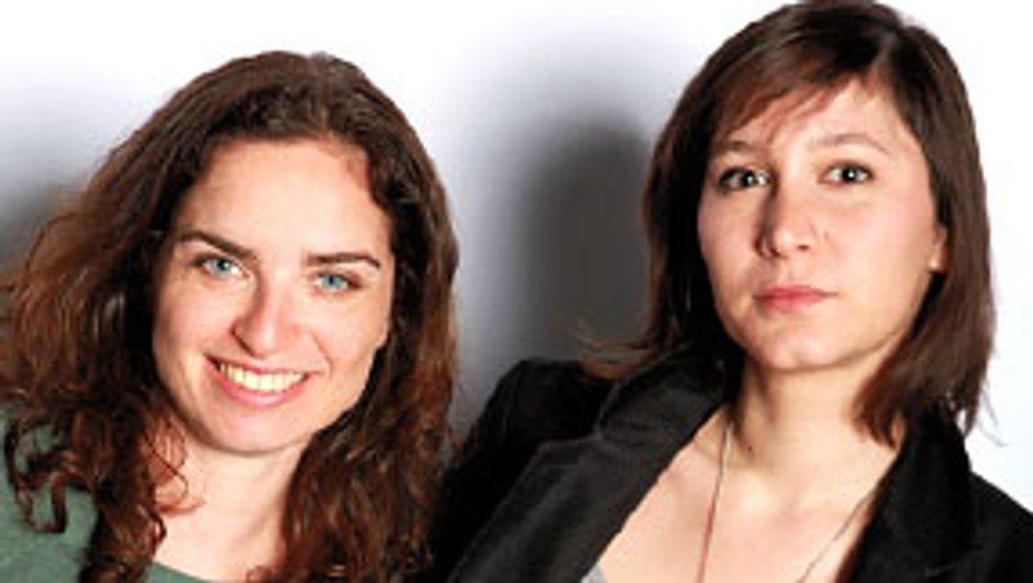 Fanny Robert et Sophie Lebarbier, scénaristes