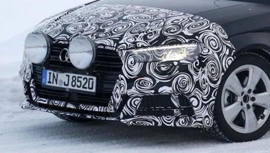 Scoop - Audi A3 2016 Cabriolet : premier essai sur route enneigée