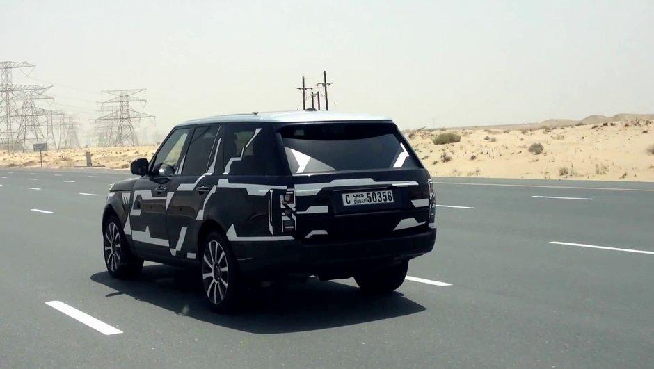 Vidéo scoop : le futur Range Rover 2013 !