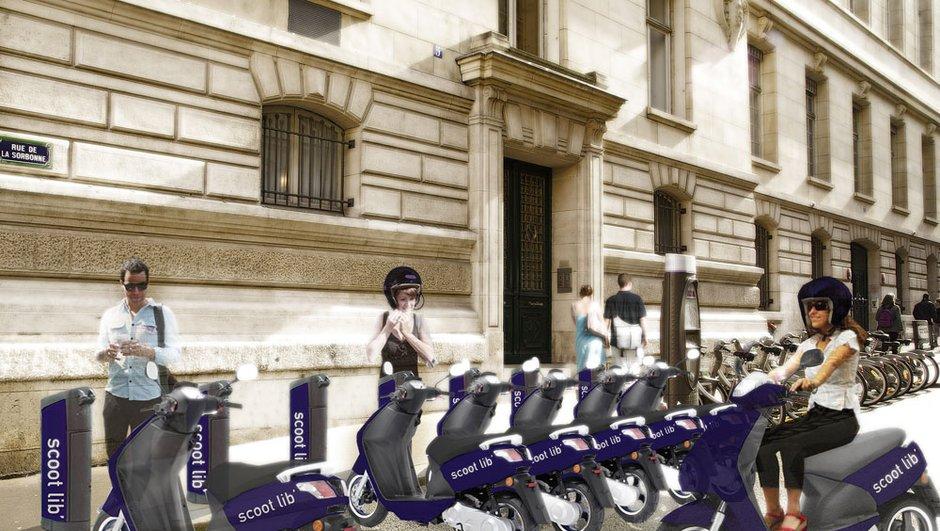 Après le Velib et l'Autolib, bientôt des scootlib à Paris ?