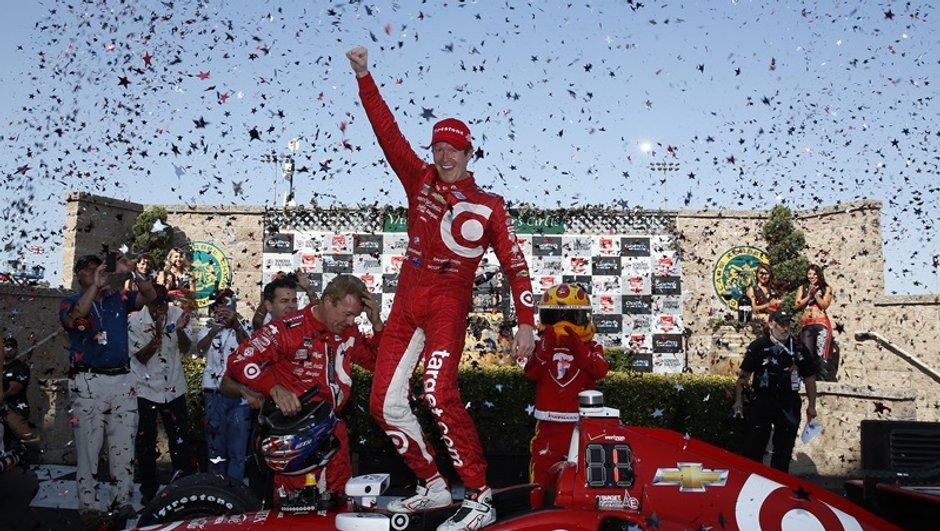 Indycar : Scott Dixon champion 2015 au nombre de victoires sur Montoya !