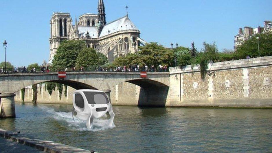 Paris aura bientôt ses voitures volantes sur la Seine ?