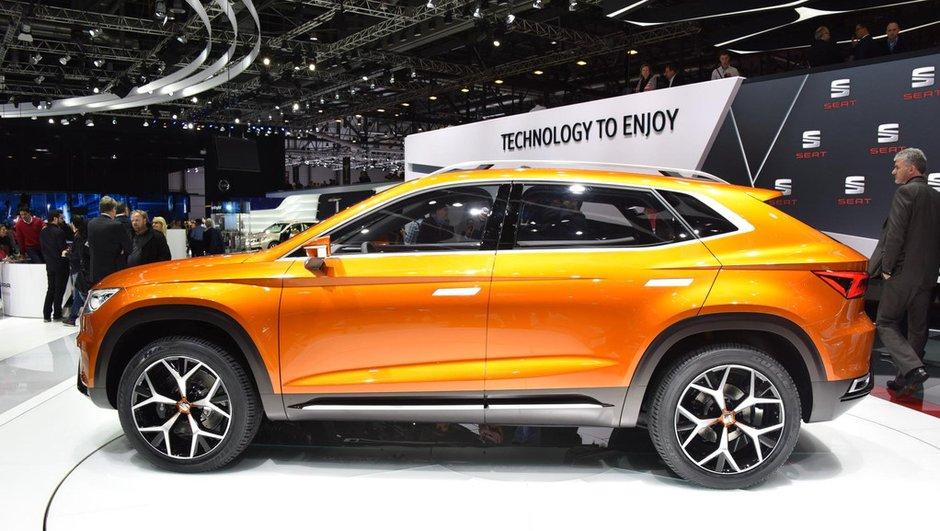 Salon de Genève 2015 : SEAT 20V20 Concept, le futur SUV se dessine (+ vidéo)