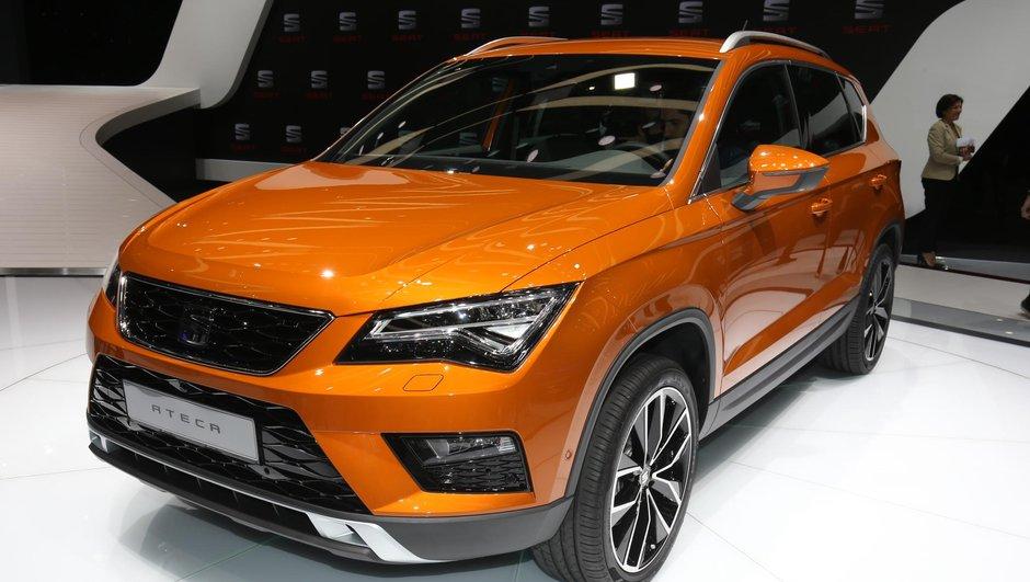 Salon Genève 2016 : le SEAT Ateca rentre dans la cour des grands SUVs