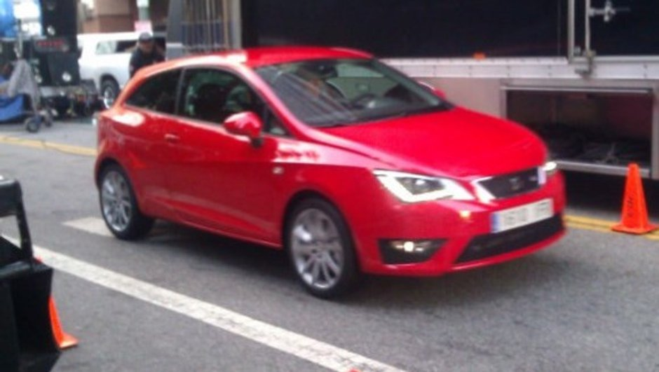 Nouvelle SEAT Ibiza 2012 : photos scoop du restylage