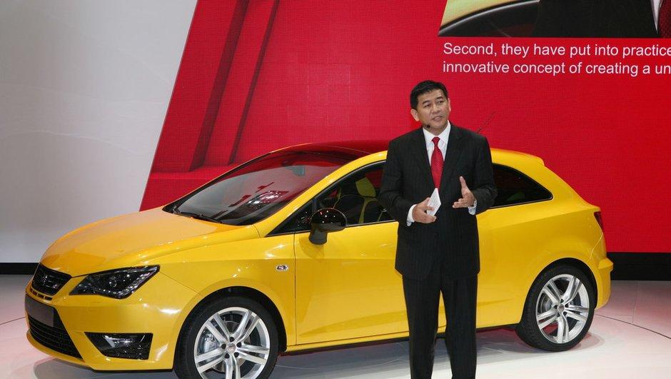 Salon de Pékin 2012 : SEAT Ibiza Cupra, restylage de courtoisie