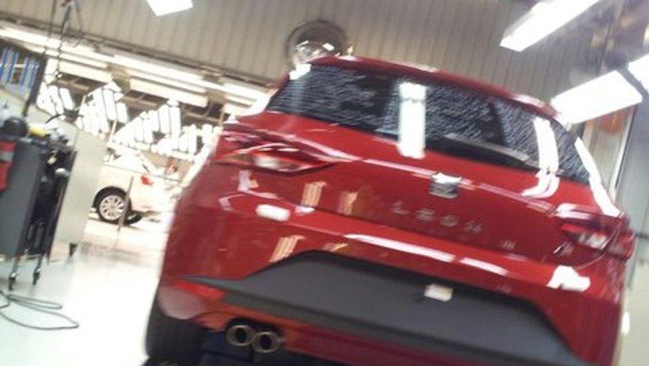 Nouvelle SEAT Leon 2012 : première photo scoop ?
