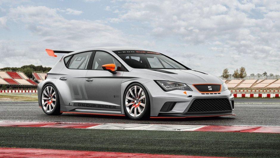 SEAT León Cup Racer : 330 chevaux pour la piste, et le WTCC ?