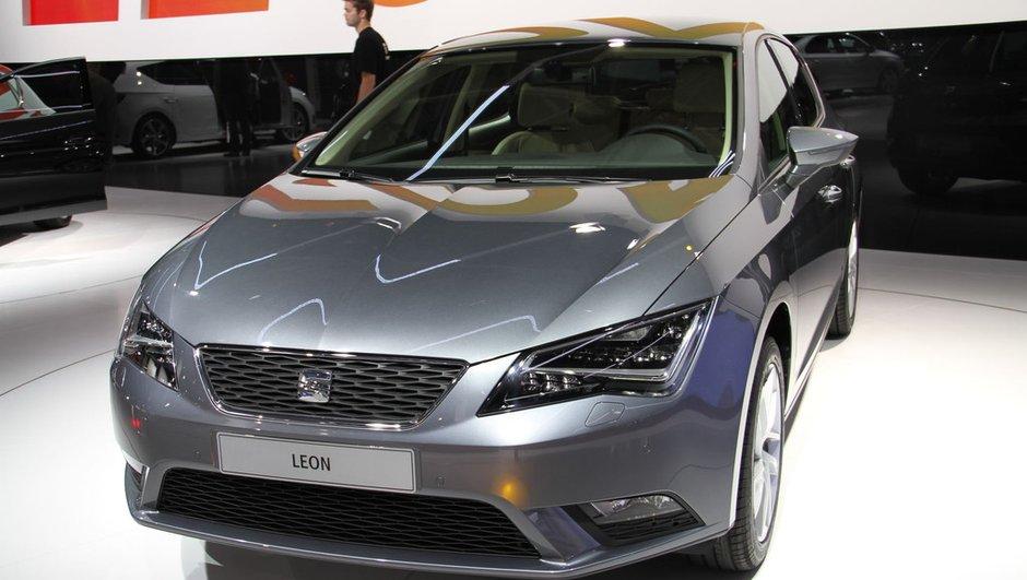 Mondial de l'Auto 2012 : Nouvelle Leon 3 et nouveau logo pour Seat