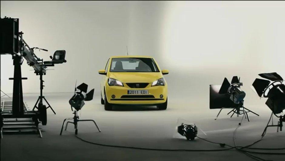 Vidéo : la nouvelle SEAT Mii en séance photos