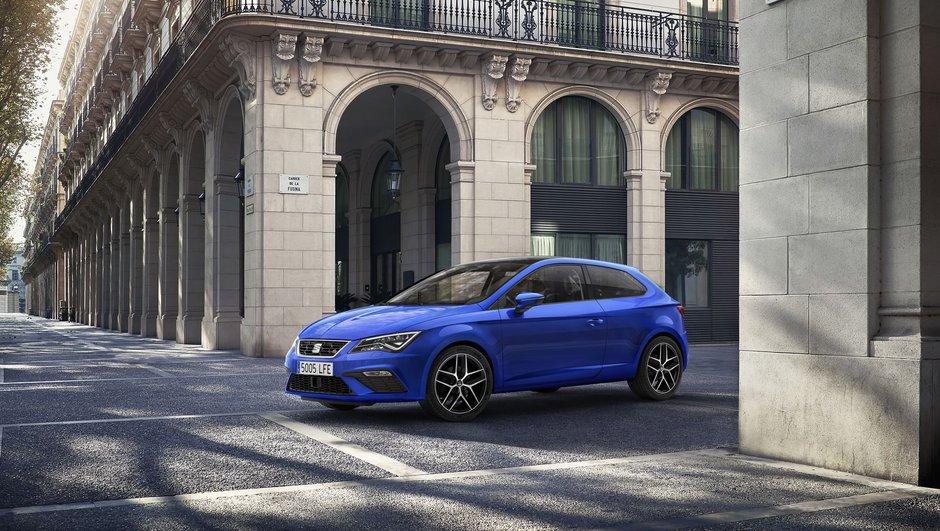 Un léger restylage pour la SEAT León 2017