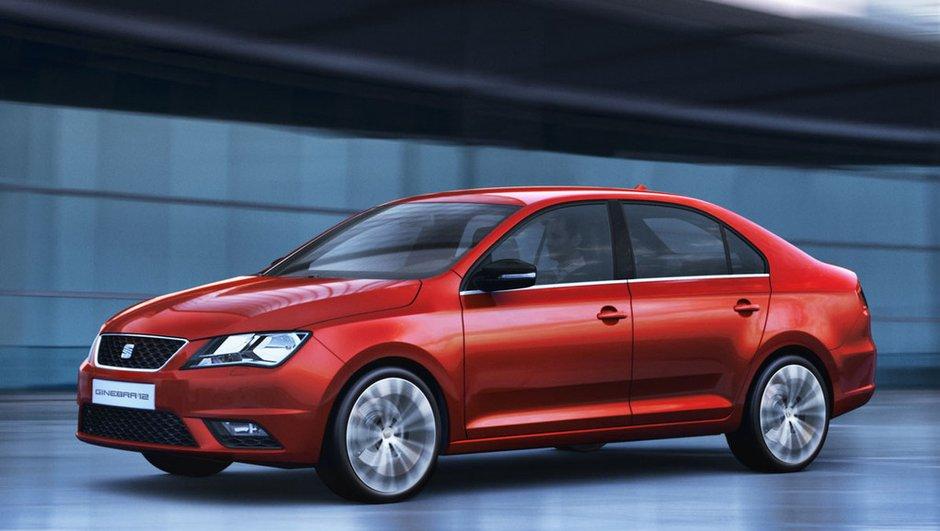 Salon de Genève 2012 : SEAT Toledo Concept en photos officielles