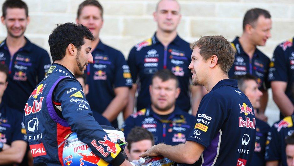 Vettel se confie sur ce qu'il pense de Daniel Ricciardo
