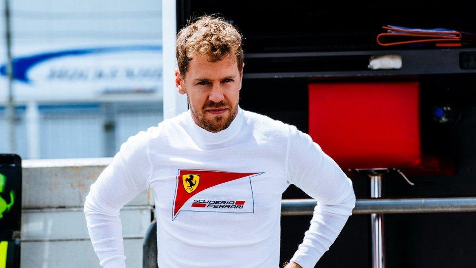 """F1 - GP Allemagne 2016 : Vettel et Ferrari """"pas là pour faire 5e et 6e"""""""