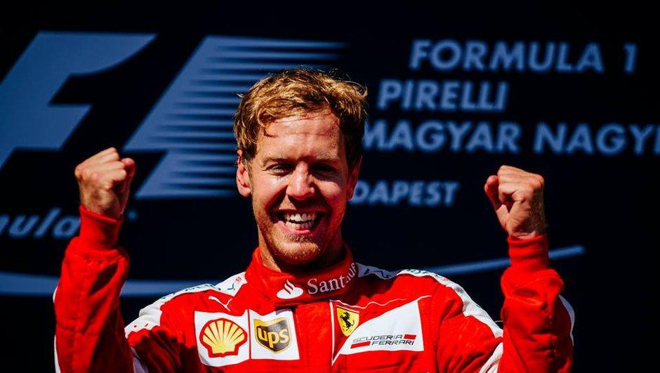 F1 - GP de Hongrie 2015: Vettel encore un peu plus dans l'histoire