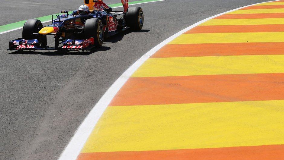 F1 - GP d'Europe : Vettel s'envole au départ !
