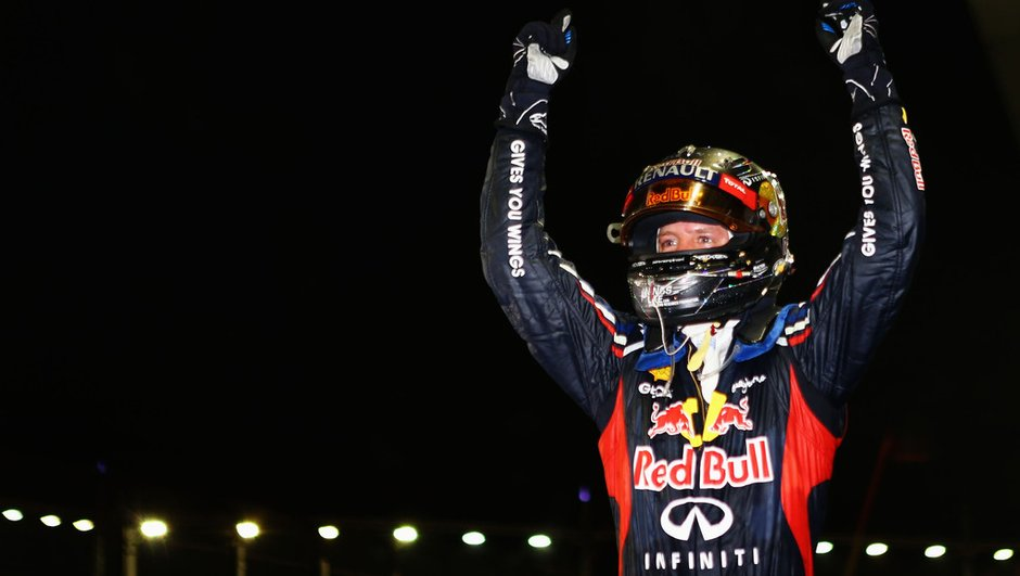 F1 - GP de Singapour : Vettel sous les projecteurs