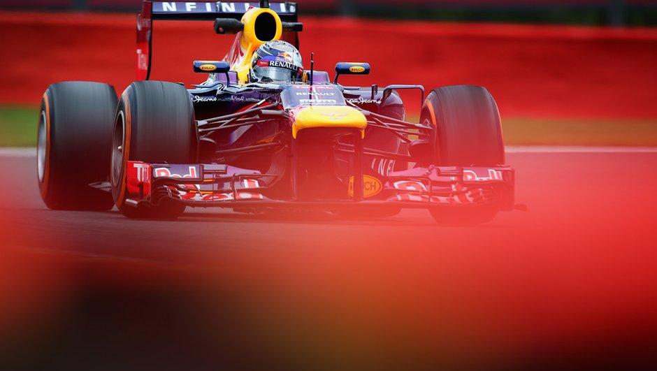 F1 - Essais 2 GP de Belgique 2013 : Red Bull se donne des ailes