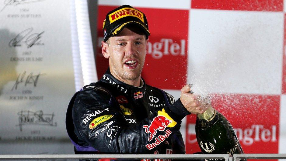 F1 - GP de Singapour 2013 : Vettel intouchable