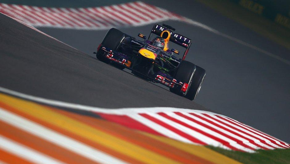 F1 - Essais GP d'Inde 2013 : Vettel en meneur, Grosjean cherche les Red Bull