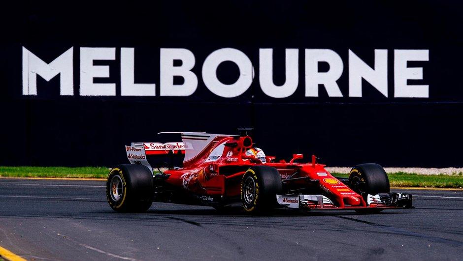 F1 - GP d'Australie 2017 : Sebastian Vettel lance sa saison par une victoire